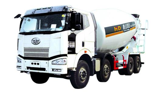 唐鸿重工XT5311GJBCA**欧曼系列搅拌运输车高清图 - 外观