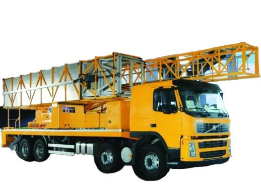 徐工XZJ5320JQJF4(22米)桁架式桥梁检测车视频