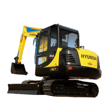 现代重工R60-7挖掘机
