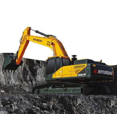 现代重工385LVS挖掘机