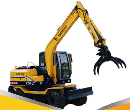 星万通WT85-2T轮式挖掘机