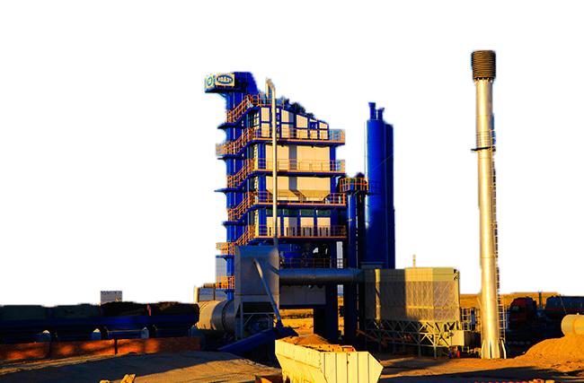 陆德PMT460沥青搅拌设备高清图 - 外观