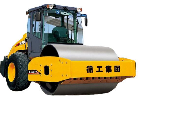 徐工XS302全液压单钢轮压路机高清图 - 外观