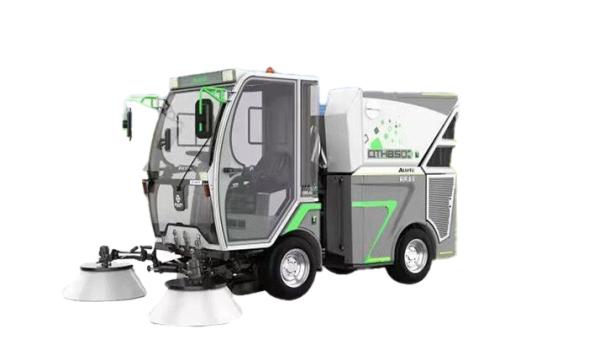 同辉汽车QTH850E+锂电动力扫路机