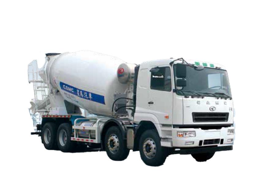 星马AH5310GJB3LNG6搅拌运输车