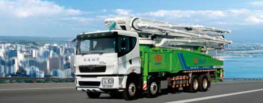 华菱星马AH5430THB0L5-49泵车高清图 - 外观