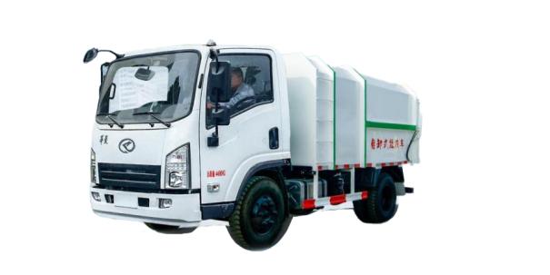 星马HN1040D16C3M5J底盘自卸式垃圾车