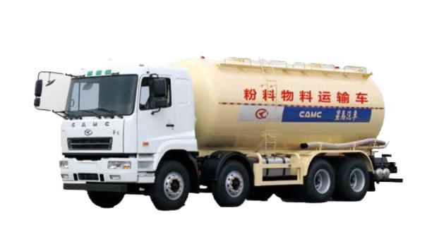 星馬AH5314GFL4L68×4 粉粒物料運輸車
