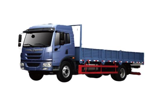 青岛解放龙V 4×2载货车(城际物流 国Ⅳ)高清图 - 外观