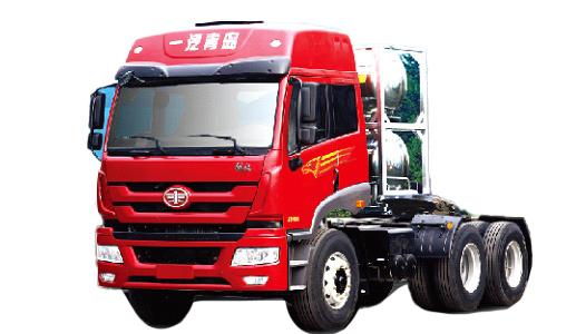 青島解放新悍威 LNG 6×4牽引車(復合型)