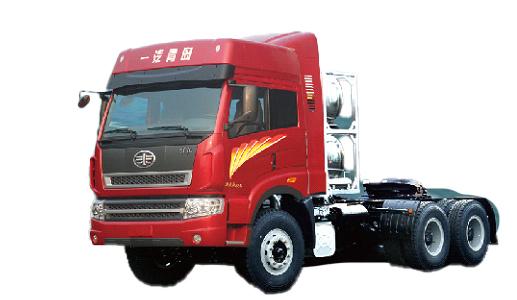青岛解放新大威LNG6×4牵引车(复合型)
