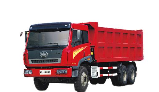 青岛解放新大威 LNG 6×4自卸车(重载型)高清图 - 外观