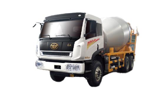 青島解放新大威 LNG 6×4攪拌車高清圖 - 外觀