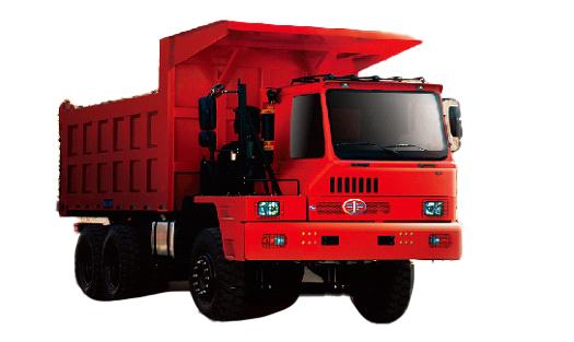 青岛解放矿威自卸车高清图 - 外观