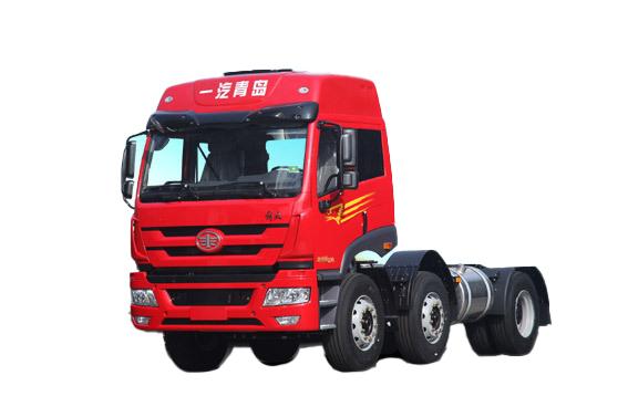 青岛解放新悍威 6X2轻量化 牵引车