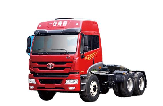 青岛解放新悍威 6X4大马力 牵引车