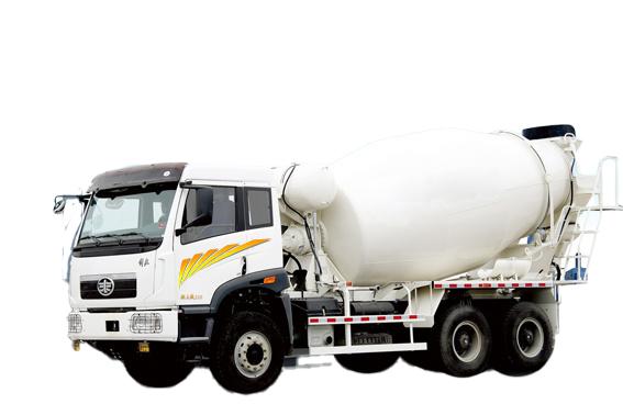 青島解放新大威 6×4混凝土攪拌車高清圖 - 外觀