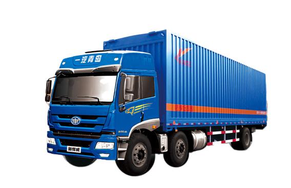 青岛解放悍威 6×2载货车(标载版)高清图 - 外观