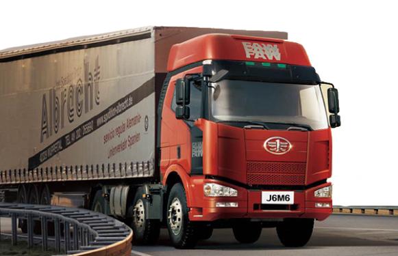 青岛解放J6M 6×2牵引车(轻量化型)