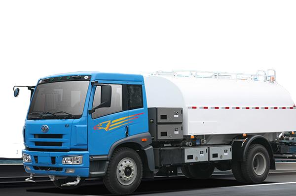 青岛解放SCZ5168GSSBEV纯电动洒水车高清图 - 外观