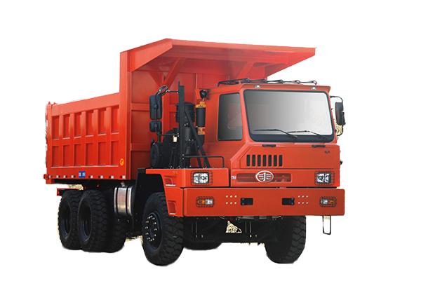 青岛解放矿威 6×4自卸车高清图 - 外观