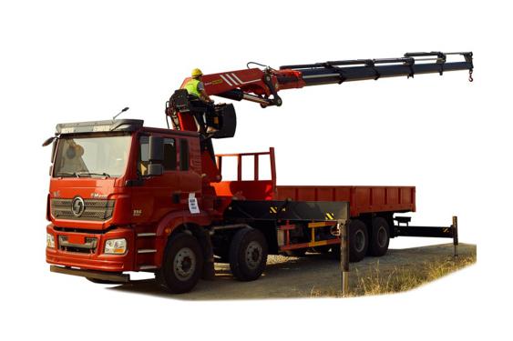 三一重工SPK61502折臂式随车起重机