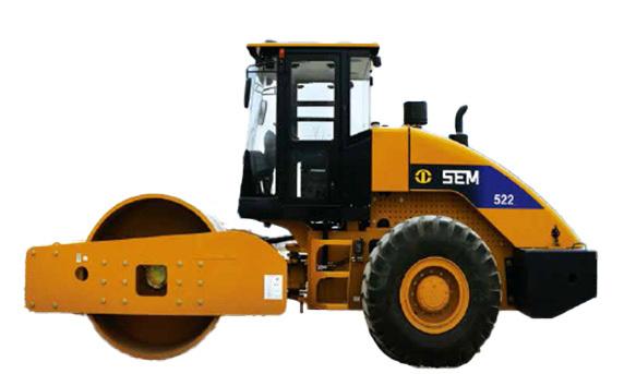 山工机械SEM522单钢轮压路机