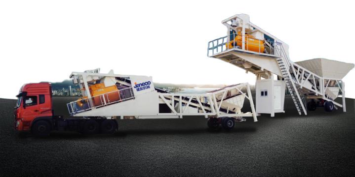 山推建友HZSY40SE 2SE型提升斗上料移動站高清圖 - 外觀