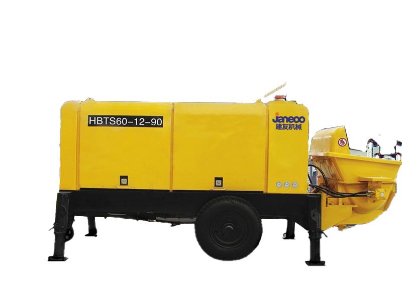 山推建友HBTS60-13-90混凝土泵(电机)高清图 - 外观