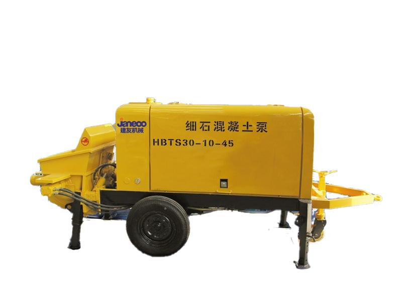 山推建友HBTS20-8-30细石混凝土泵(电机)高清图 - 外观