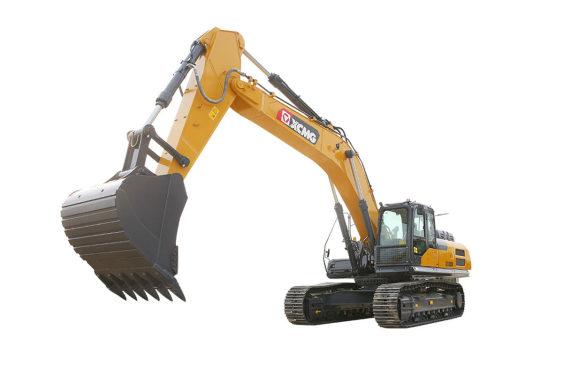 徐工XE380DK大型挖掘机