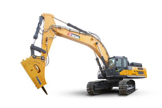 徐工XE550DK大型挖掘机