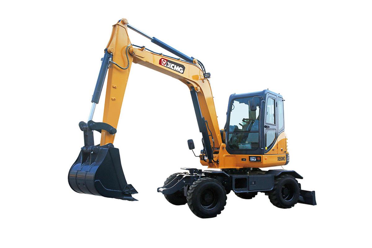 徐工XE60WD轮式挖掘机高清图 - 外观