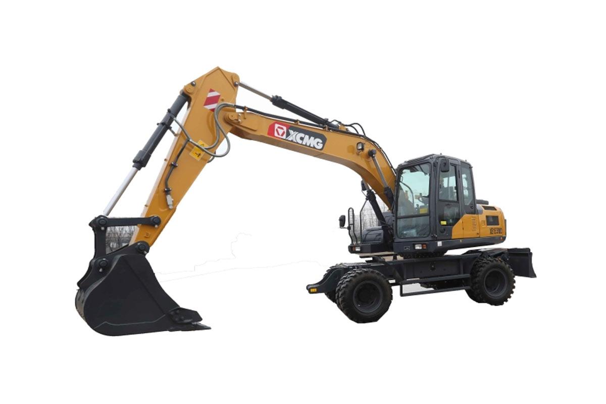 徐工XE155WD轮式挖掘机高清图 - 外观