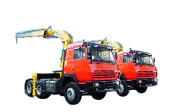 石煤机QYS-14ⅣA  14吨直臂式随车起重机