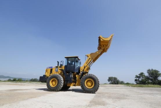 山工SEM655D轮式装载机高清图 - 外观