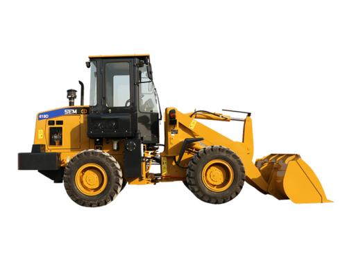 山工SEM618D轮式装载机高清图 - 外观