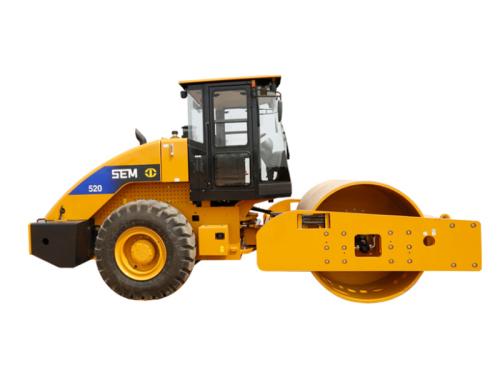 山工机械SEM520单钢轮压路机