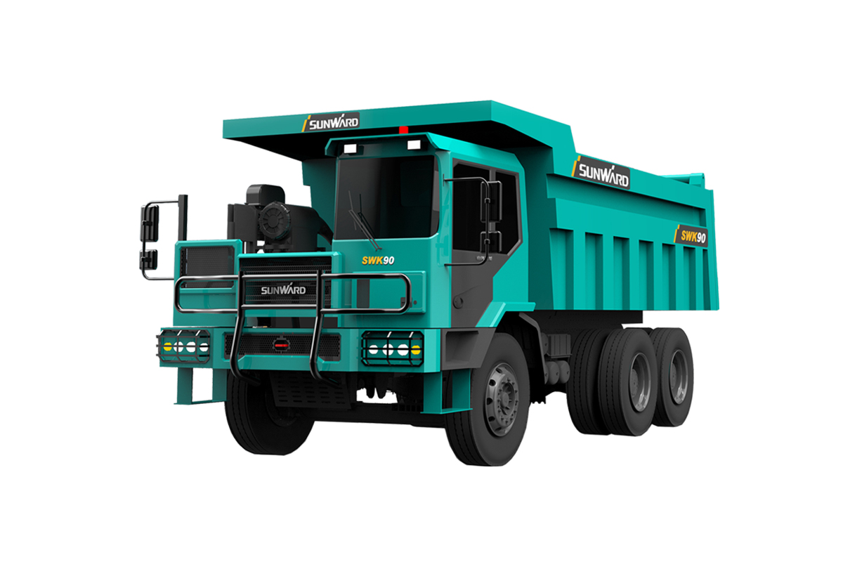 山河智能SWK 90礦用(寬體)自卸車高清圖 - 外觀