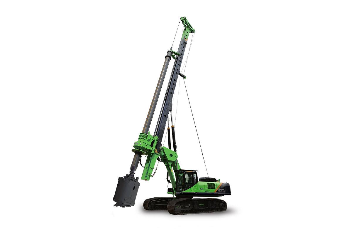 泰信机械KR360E高性能全液压旋挖钻机高清图 - 外观