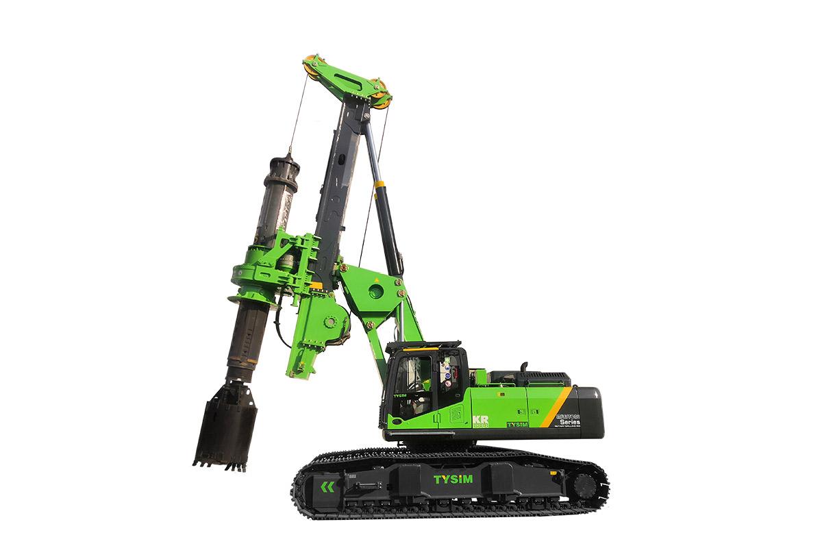 泰信机械KR300ES低净空全液压旋挖钻机高清图 - 外观