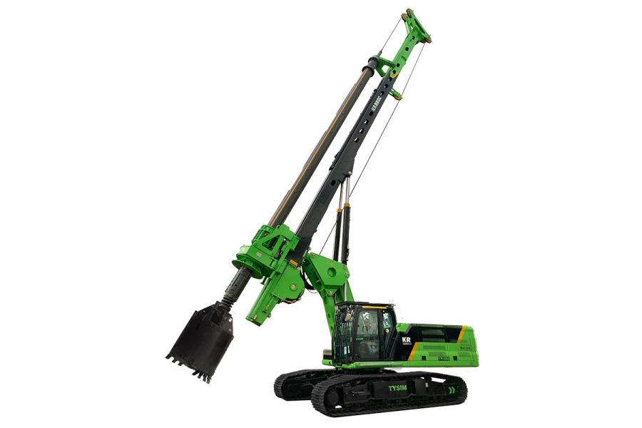 泰信机械KR220C高性能全电控旋挖钻机