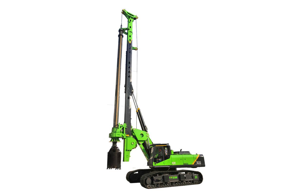 泰信机械KR220E高性能全液压旋挖钻机高清图 - 外观