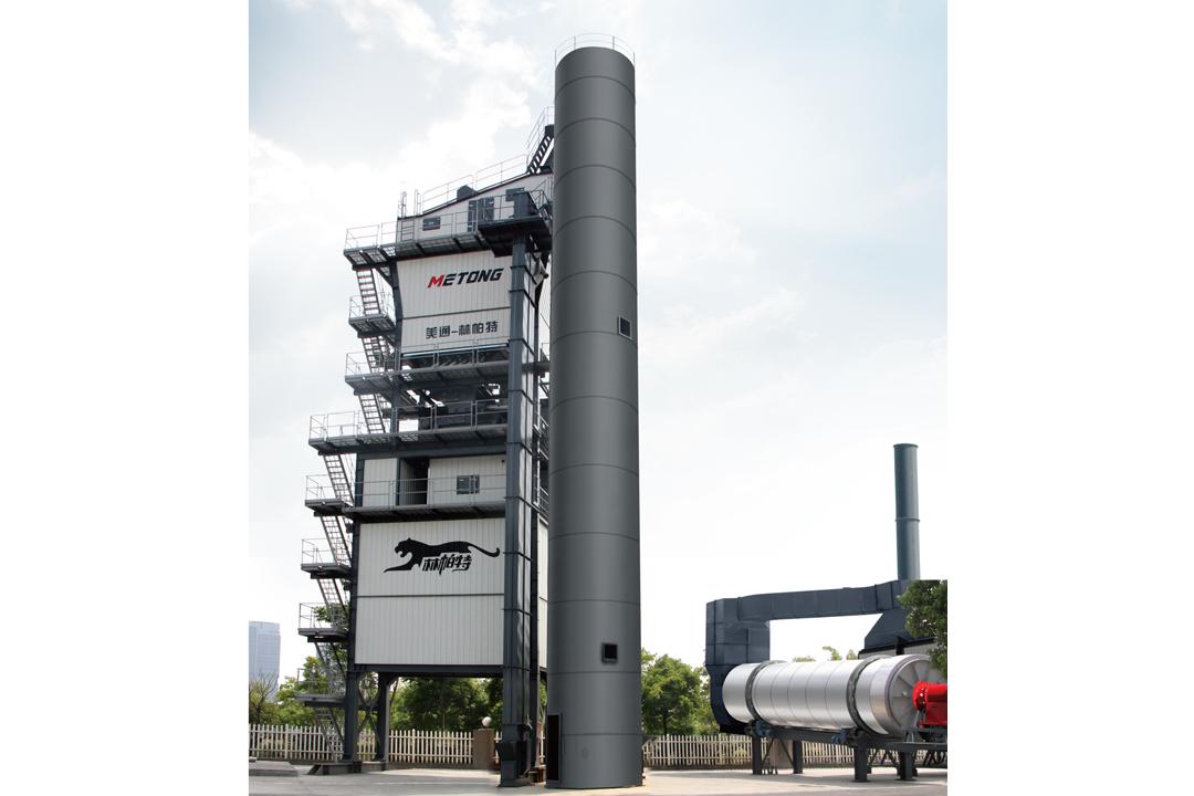 美通筑机DLB4000环保节能沥青搅拌站高清图 - 外观