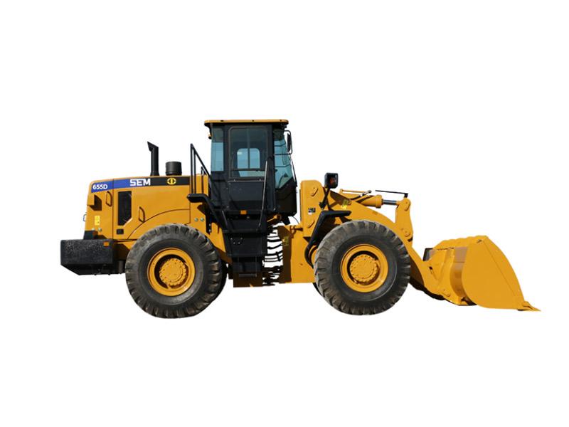 山工机械SEM655D轮式装载机高清图 - 外观