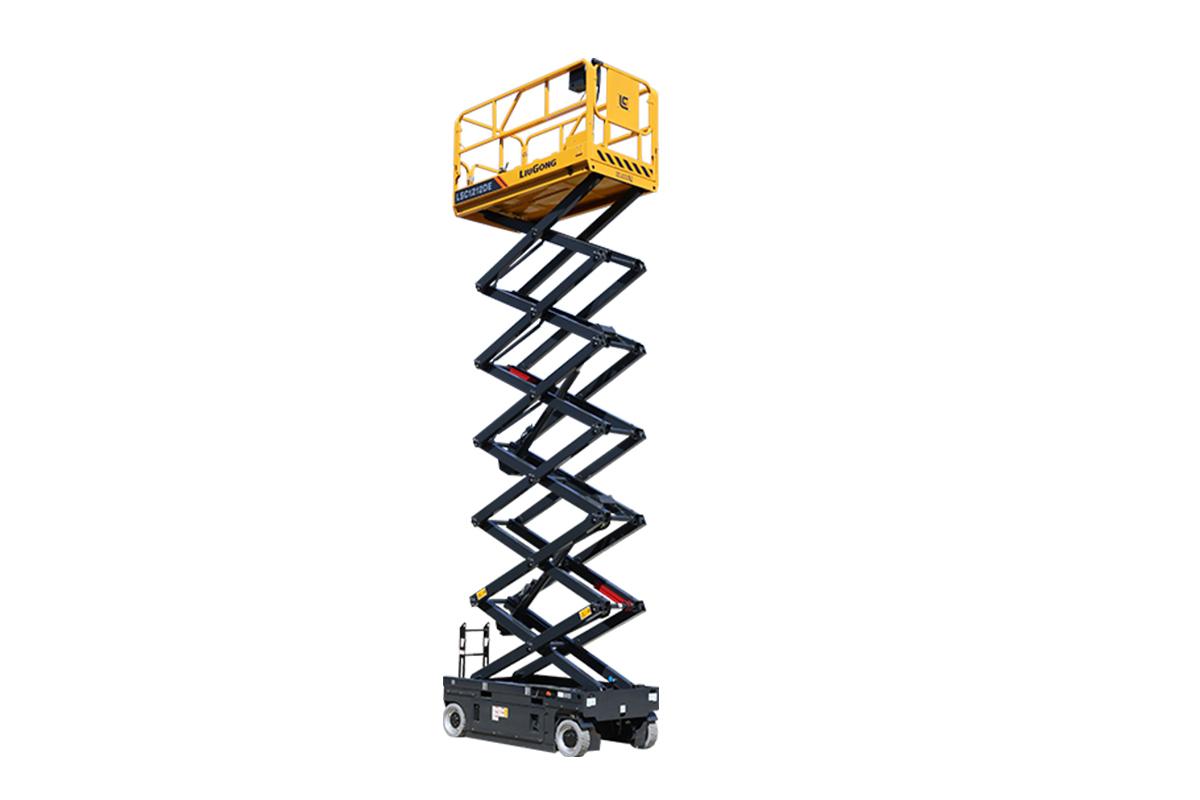 柳工LSC1212DE剪叉式高空作业平台高清图 - 外观