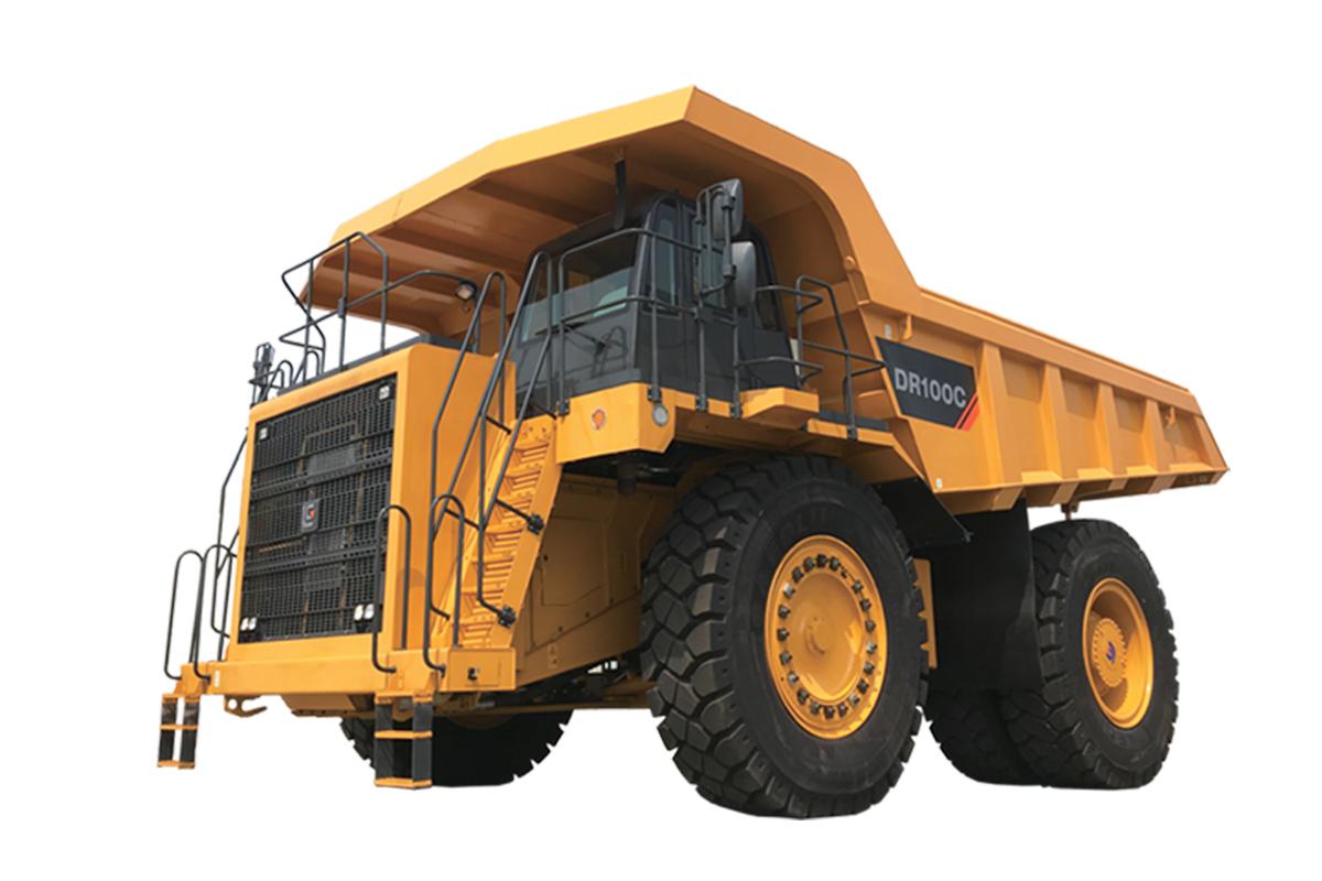 柳工DR100C礦用卡車高清圖 - 外觀