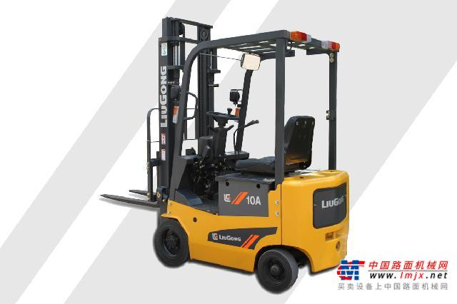 柳工CLG2010A-SCLG系列四支点单驱1.0T迷你电动平衡重式叉车高清图 - 外观