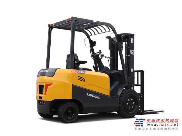 柳工CLGA35-S/C電動叉車高清圖 - 外觀