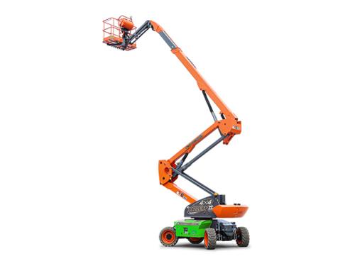 鼎力BA22ERT自行走曲臂式高空作业平台(电池驱动)